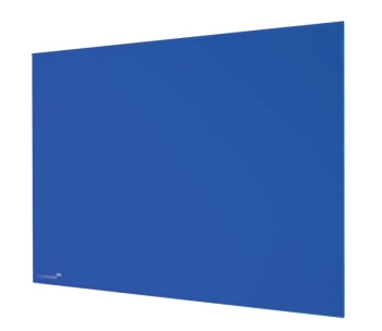 Legamaster 7-104854 90 x 120 cm Coloured Glassboard- Blue