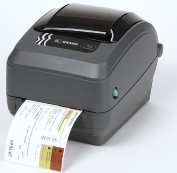 Zebra GX430T Thermal Transfer Desktop Label Printer