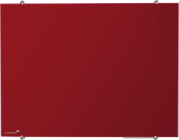 Legamaster 7-104763 100 x 150 cm Coloured Glassboard- Red