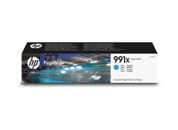 HP 991X High Yield Cyan Original PageWide Cartridge