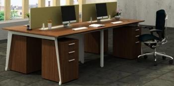 Office Centre ALX-WS4-1207-F9 Workstation