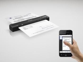 Epson B11B253401 WorkForce ES-60W Wireless mobile scanner