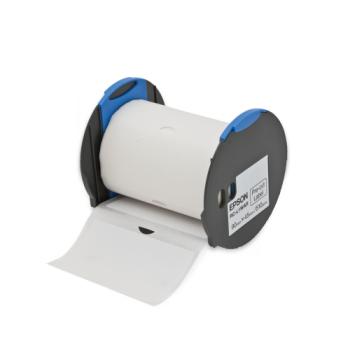 "Epson RC-L1WAR White Pre-Cut Label Roll 3.6""x1.8"" (45mmx90mm)"