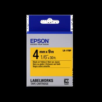 Epson Label Cartridge Pastel LK-1YBP Pastel Black/Yellow 4mm (9m)