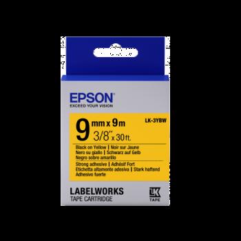 Epson Label Cartridge Strong Adhesive LK-3 Series 9mm (9m)