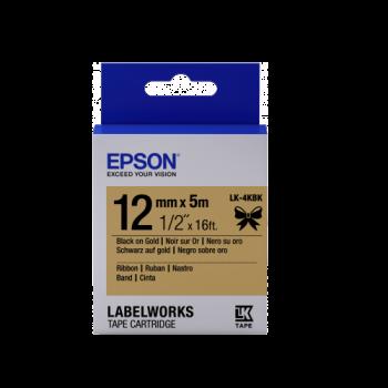 Epson Label Cartridge Satin Ribbon LK-4 Series 12mm (5m)