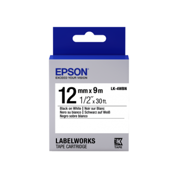 Epson Label Cartridge Standard LK-4 Series 12mm (9m)
