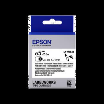 Epson Label Cartridge Heat Shrink Tube (HST) LK-4 D5mm (2.5m)