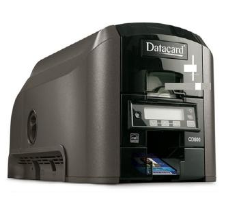 DataCard CD800 Desktop ID Card Printer