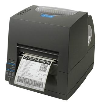 Citizen CL-S621 203 dpi Receipt Printer USB, 8 Dots/mm, Black