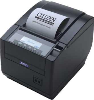 Citizen CT-S801 Receipt Printer USB, 8 Dots/mm (203 dpi), Black