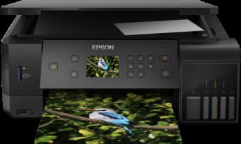 Epson C11CG15403DA EcoTank L7160 A4 photos and documents Inkjet Printer