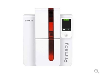 Evolis PM1H000RS Primacy Card Printer (YMCKO Ribbon+Software+100PVC Cards)