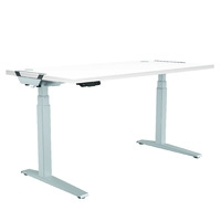 Fellowes Levado Des and Top White (1800mm x 800mm)