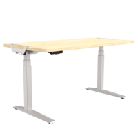 Fellowes Levado Height Adjustable Desk+Top  (1400mm X 800mm)