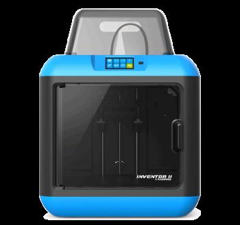 Flashforge Inventor II Plug and Play Desktop 3D Printer