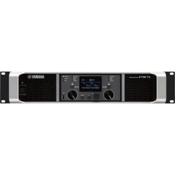 Yamaha PX5 Dual Channel environments. 500W x 2 at 8Ω-800W Lightweight Power Amplifier