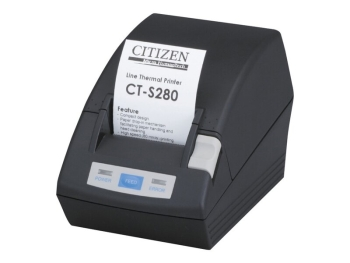 Citizen CT-S280 203 dpi Receipt Printer USB, 8 Dots/mm, Black