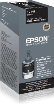 Epson T7741 Pigment Black Ink Bottle 140ML