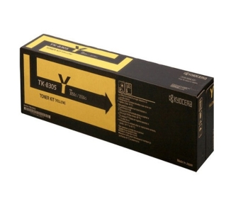 Kyocera TK830Y Yellow Toner Cartridge