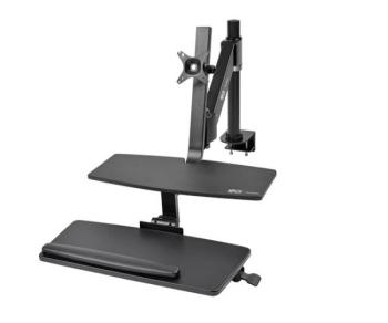 Tripp Lite WorkWise Standing Desk-Clamp Workstation, Single-Monitor