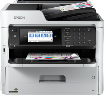 Epson C11CG03402BY WF-C5710DWF Fast small workgroup InkjetPrinter