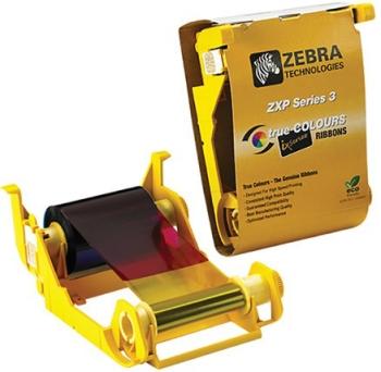 Zebra ZXP Series 3 YMCKO ID Card Printer Ribbon